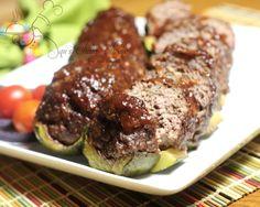 BBQ Stuffed Zucchini!