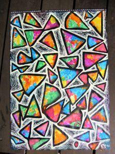 Triangle Abstract Sam Serif