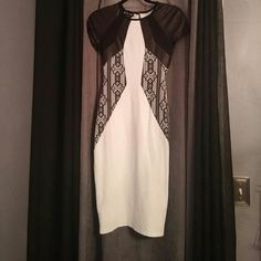 Drezz Worn once bebe Dresses Midi
