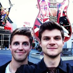 Marcus Butler and Jim Chapman. So silly! x