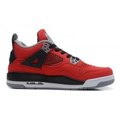 acc2a39fd539 408452-603 Air Jordan 4 Retro Fire Red White-Black-Cement Grey Women
