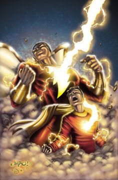 SHAZAM!!  This is the word of power bestowed upon the young Billy Batson from the wizard also named Shazam. Now can transform from into an adult super hero and any moment. This is the perfect draw for a young boy. They can imagine themselves in the world being the protagonist.