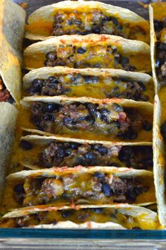 Heritage Schoolhouse: Oven Baked Beef Tacos