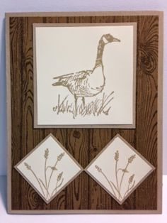 Wetlands, Masculine Card, Father's Day Card, Stampin' Up!, Rubber Stamping, Handmade Cards