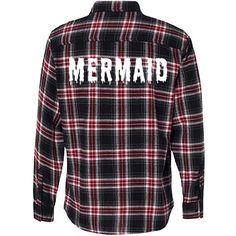 Mermaid Melt Flannel Shirt