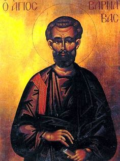 Saint Barnabas the Apostle, Russian icon