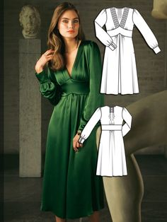 Read the article 'Simply Divine: 8 Beautiful Gown Sewing Patterns' in the BurdaStyle blog 'Daily Thread'.