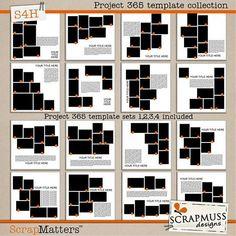 ISO-yearbook templates - DigiShopTalk Digital Scrapbooking