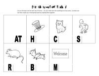 """""""Hop on Pop"""" Rhyming Flip Books- This flip book activity will introduce your child to rhyming sounds."""