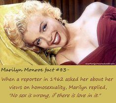 Marilyn Monroe fact