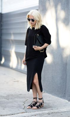 d765ddede1ea8 54 Minimalist Outfits to Help You Look Impossibly Chic All Season.  Lookastic · Women s Look of the Day