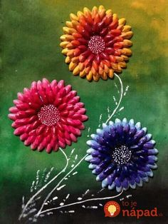 Best 12 How to Make Flower Pistachio Shells (Pista Shells) Diy Home Crafts, Creative Crafts, Handmade Crafts, Fun Crafts, Art N Craft, Craft Work, Pista Shell Crafts, Plastic Spoon Crafts, Pistachio Shells