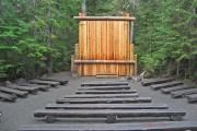 Cougar rock amphitheater, in a campground near Paradise, Mt. Rainier
