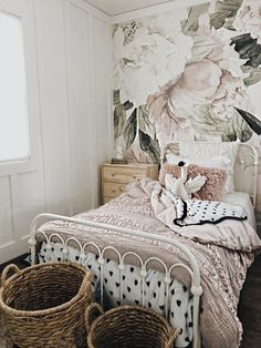Cozy girls bedroom