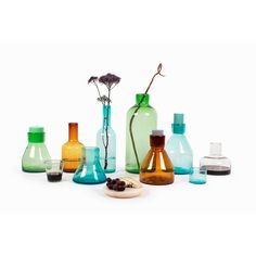 Imperfect Design Cantel Glas Vaas 35 cm - Oranje - Eigen Huis & Interieur