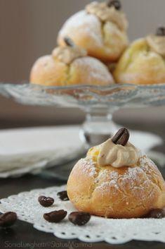 BIGNE' AL CAFFE' http://blog.giallozafferano.it/statusmamma/bigne-per-la-festa-del-papa/