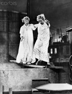 lucy and ethel pictures | Lucy and Ethel on Roof Top - BE036396 - Rights Managed - Stock Photo ...