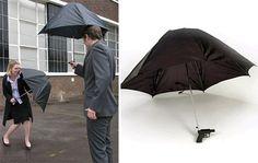 水鉄砲機能付き傘 -Water Gun Umbrella-