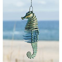 nautical windchime | ... Favorites > Shop by Look > Beach and Nautical > Seahorse Wind Chime
