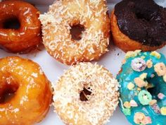 Suzy Q leads Ottawa's gourmet doughnut invasion with a move from market stall to sweet shack Suzy Q Donuts, Kaffir Lime, White Chocolate Raspberry, Maple Bacon, Market Stalls, Toasted Coconut, Ottawa, Places To Eat, Doughnut