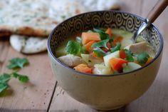 Mulligatawny suppe som hovmesteren serverer hertuginnen hver jul på NRK Thai Red Curry, Soup, Fruit, Ethnic Recipes, Soups