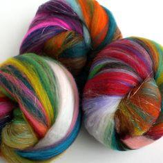 Spinning fibre!