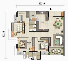 perfect feng shui house plans - Google Search