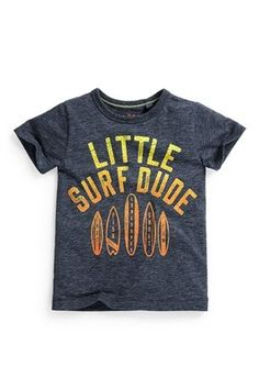 Buy Little Surf Dude T-Shirt (3mths-6yrs) from the Next UK online shop