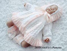 BABY KNITTING PATTERN 2 SIZES