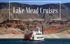 Expert Interview with Lake Mead Cruises Lake Mead Nevada, Champagne Brunch, Experience Gifts, Romantic Dinners, Cruises, Las Vegas, How To Find Out, Interview, News