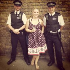 hollygoeslightly and policemen at #nottinghillcarnival #london #policemen