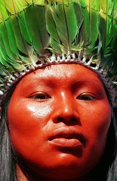 Native People from Brazil: Photo We Are The World, People Around The World, Xingu, Arte Tribal, Tribal People, Thinking Day, First Nations, World Cultures, American Indians