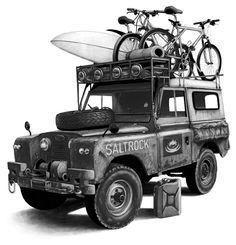 Land Rover (Saltrock) by peterbowen