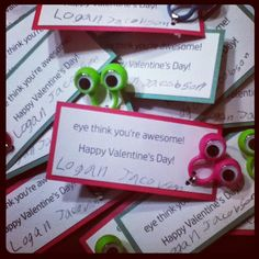 stephjacobson: Valentine's Day Wrap Up (and a parenting fail) Parenting Fail, You're Awesome, Cute Cards, Fails, Valentines Day, You Are Amazing, Valentine's Day Diy, Pretty Cards, You Are Awesome