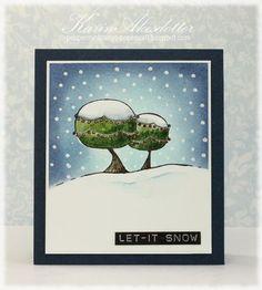 Let it snow   WINNER of my giveaway!