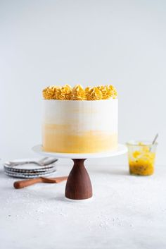 Vanilla Layer Cake w