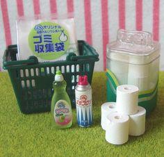 Re-ment (Rement) : Puchi Supermarket / Toilet Tissues Detergent by HarapekoDoggyBag, via Flickr