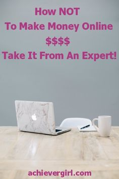 Take it from an expert on how NOT to make money online. Easy steps that will surely put a halt to your moneymaking efforts! Way To Make Money, Make Money Online, How To Make, Online Marketing Strategies, Budgeting 101, Virtual Assistant, Personal Finance, Goal, Investing
