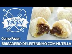 Ana Maria Brogui #238 - Brigadeiro de Leite Ninho com Nutella para Intolerantes à Lactose - YouTube