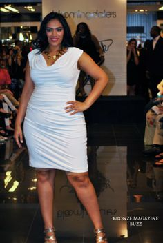 "full figure fashion week 2014 | Bloomingdales Full Figured Fashion Week | Bronze Magazine ""BUZZ"""