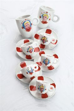 Schnabell by Julian Schnabell, Austria Coffee Shops, Austria, Espresso, Photo Art, Clever, Art Pieces, Cups, Tableware, Life