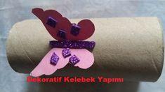 Pratik Bilgiler Blogu: Dekoratif Kelebek Yapımı Videolu Anlatım