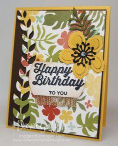 Botanical Happy Birthday to you