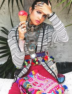 How gorgeous is this gypsy editorial from Disfunkshion Magazine?