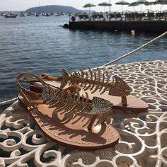 Lisca di pesce bellissimi  #sandals #sandali #handmade