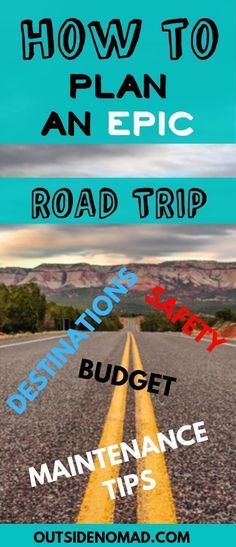 Planning a road trip? Make it the best with these road trip tips. US road trips are a great way to see national parks and other historic parts of the USA. Budget friendly and affordable tips. Prepare for your road trip with vehicle maintenance tips, Road Trip Usa, Road Trip Packing List, Road Trip Games, Road Trip Essentials, Packing Lists, Road Trip Tips, Plan A Road Trip, Road Trip National Parks, Road Trip With Kids