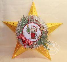 Whiff of Joy - Tutorials & Inspiration: A Christmas Star tutorial