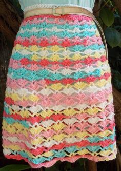 Check out GYPSY SHELLED SKIRT by member Sweet Nothings. - FREE pattern at http://shyamanivas.blogspot.in/2014/10/gypsy-shelled-skirt.html
