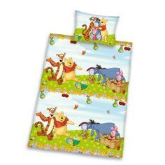 Herding 242281063521 Bettwäsche Winnie Pooh, Kopfkissenbezug: 40 x 60 cm und Bettbezug: 100 x 135 cm, 100 % Baumwolle, Renforce von Herding, http://www.amazon.de/dp/B00F9XF544/ref=cm_sw_r_pi_dp_qtz1sb0WR97YA