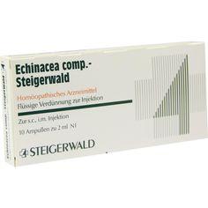 ECHINACEA COMP Steigerwald Injektionslösung:   Packungsinhalt: 10X2 ml Injektionslösung PZN: 07432300 Hersteller: Bayer Vital GmbH Preis:…
